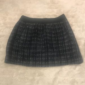 J. Crew Midnight Tweed Bungalow skirt Size 2